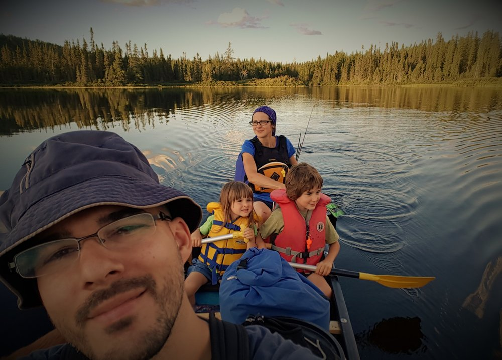 "Caroline Collin - Our first day on the Capitachouane River (Abitibi-Témiscamingue, Québec) as part of our 7-day ""solitary"" expedition (75 km)"