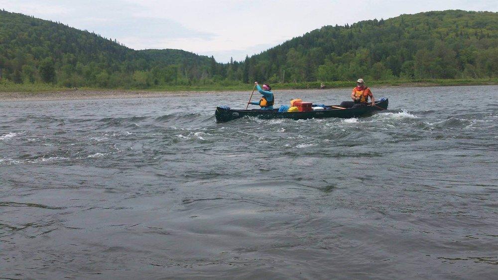 Jayne Vandenberghe -Restigouche River, NB