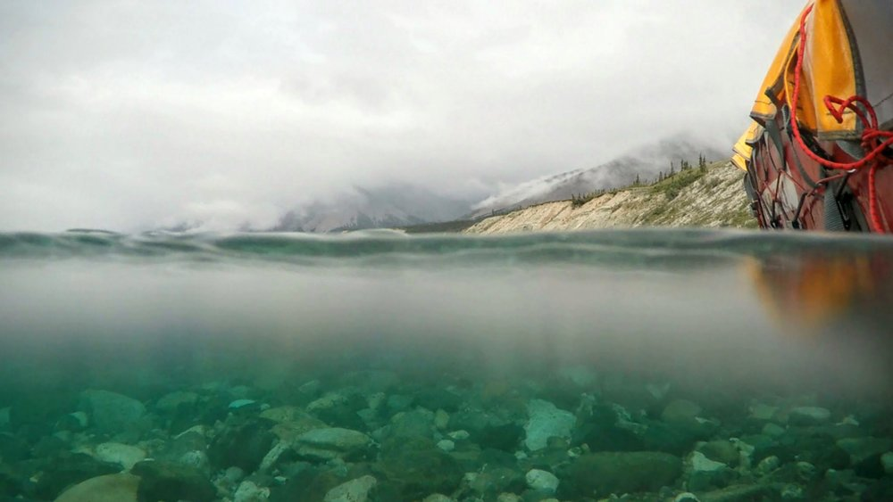 Bryan Buttigieg - From our two week trip on the  wind River in the Yukon. We were right on the heart of the Wernicke Mountains, but you could barely tell from the mist