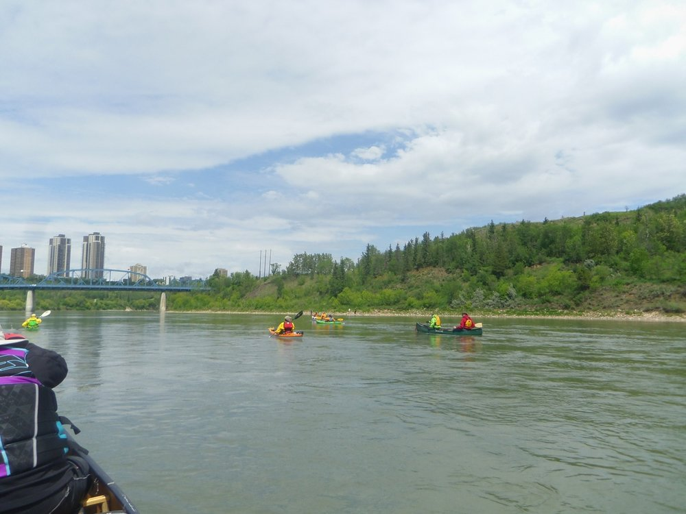 Melvyn Kadyk - Taken in the city of Edmonton on the North Sask River
