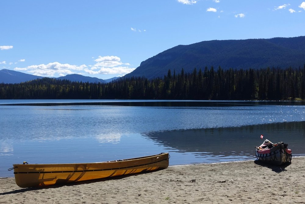 Fred Obermeyer -Unna Lake on the Bowron Lake Circuit, British Columbia