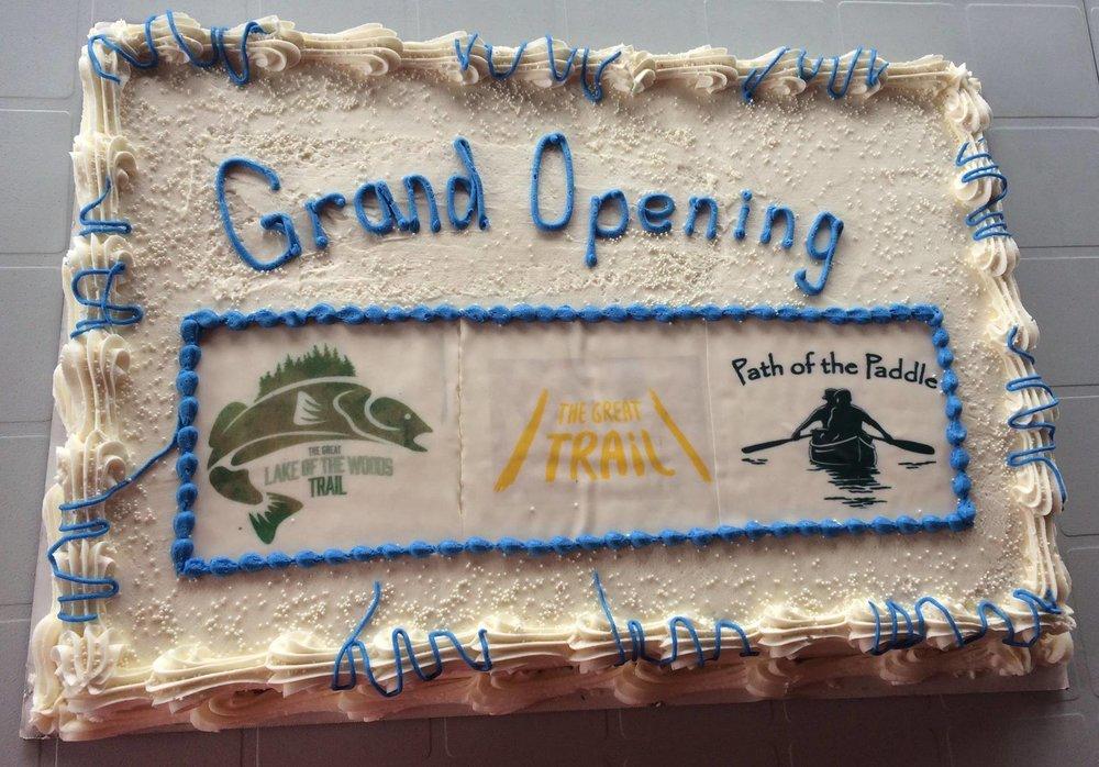 Celebration cake - Photo by Gail Row
