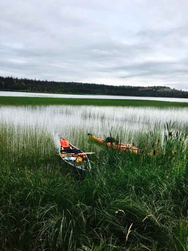 Tara Tompkins -Lake outside of Yellowknife NWT