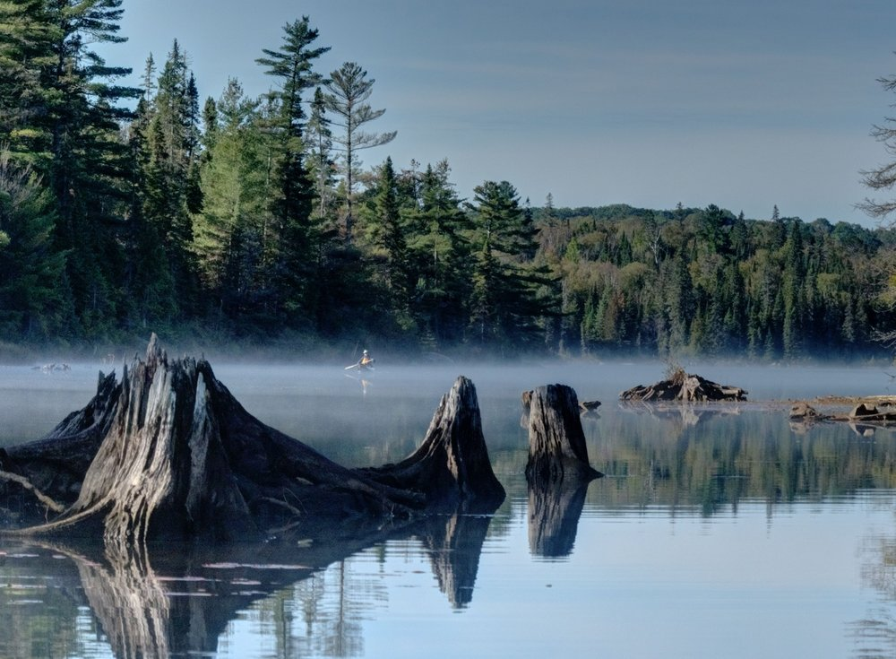 Jim and Sue Waddington -Joe Lake Algonquin Park, Ontario
