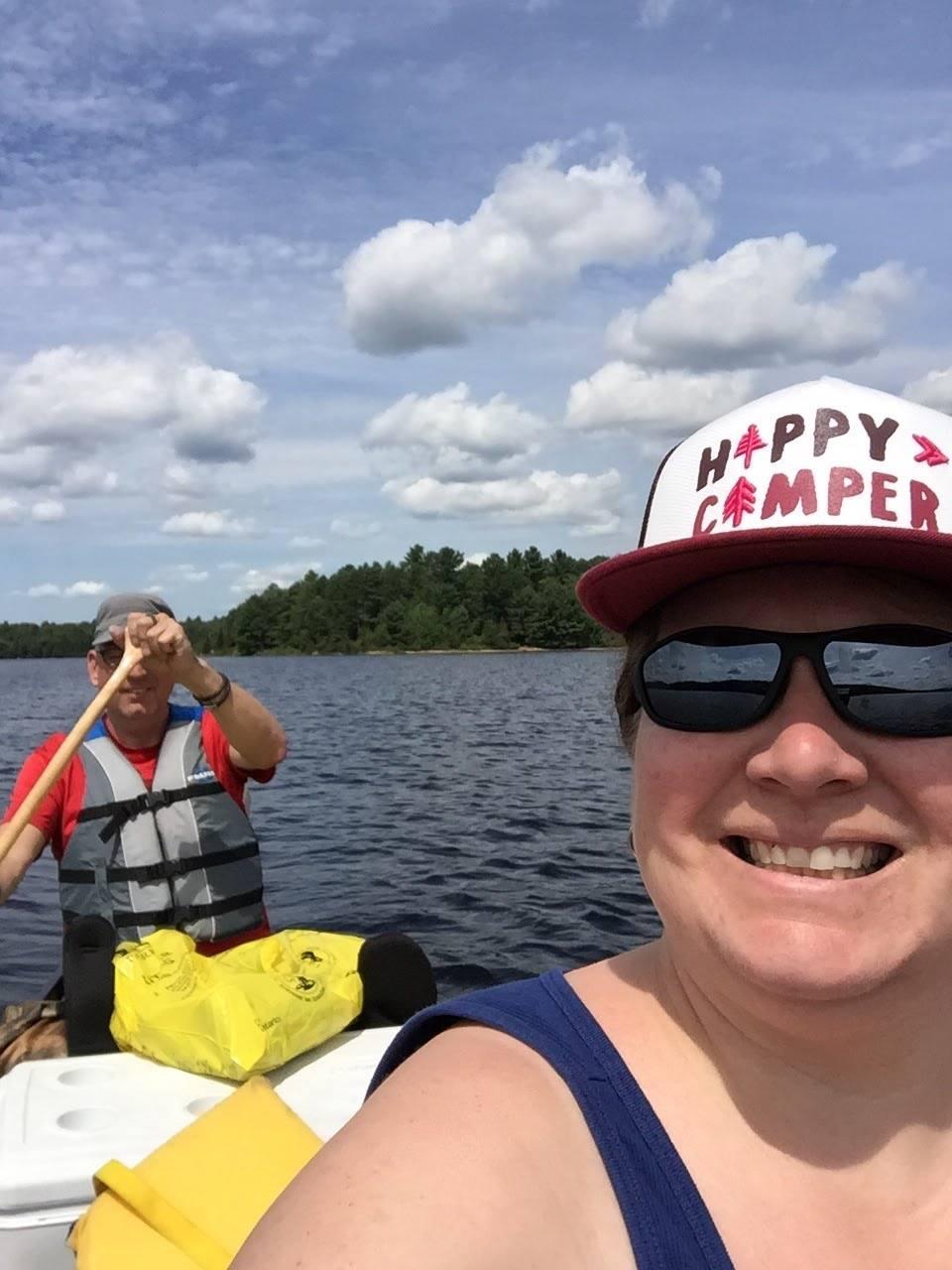 Renee Fellbaum -Bottle Lake, beautiful day, great company!!!
