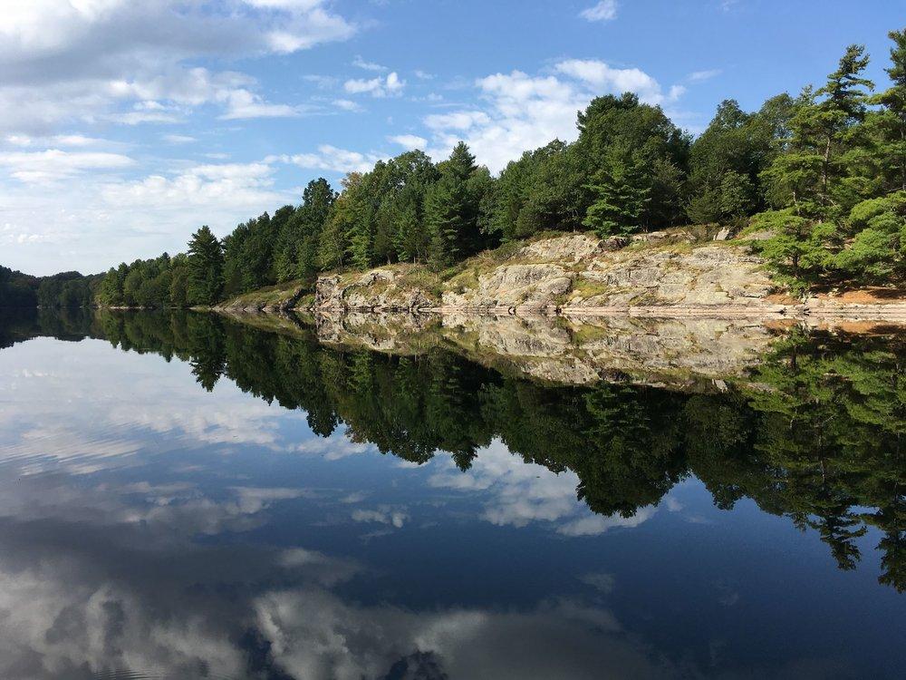 Kathy DeRoy Rifkin -Slim Bay, Charleston Lake