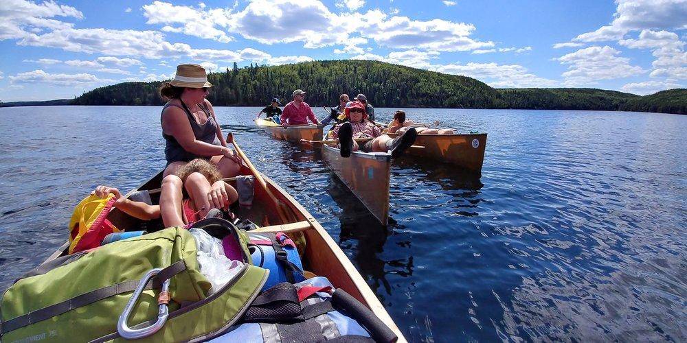 "Suzie Lemoine - ""A Great Gathering""Photo taken on Daniels Lake in NW Ontario"