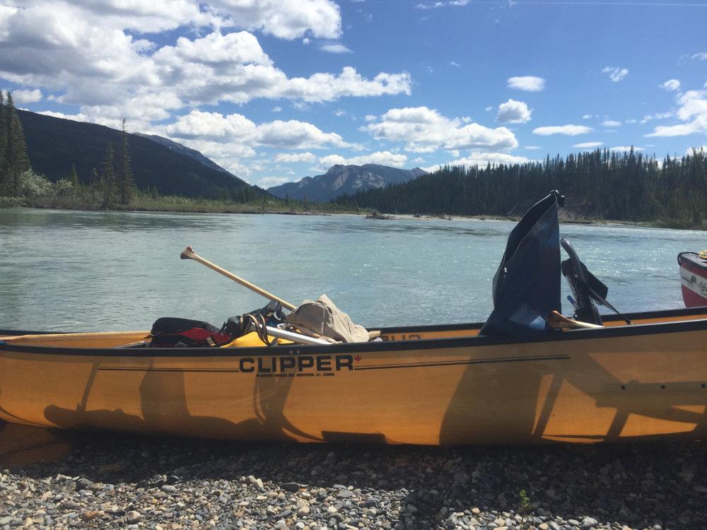 Tamas Fustos -on the North Saskatchewan River, AB