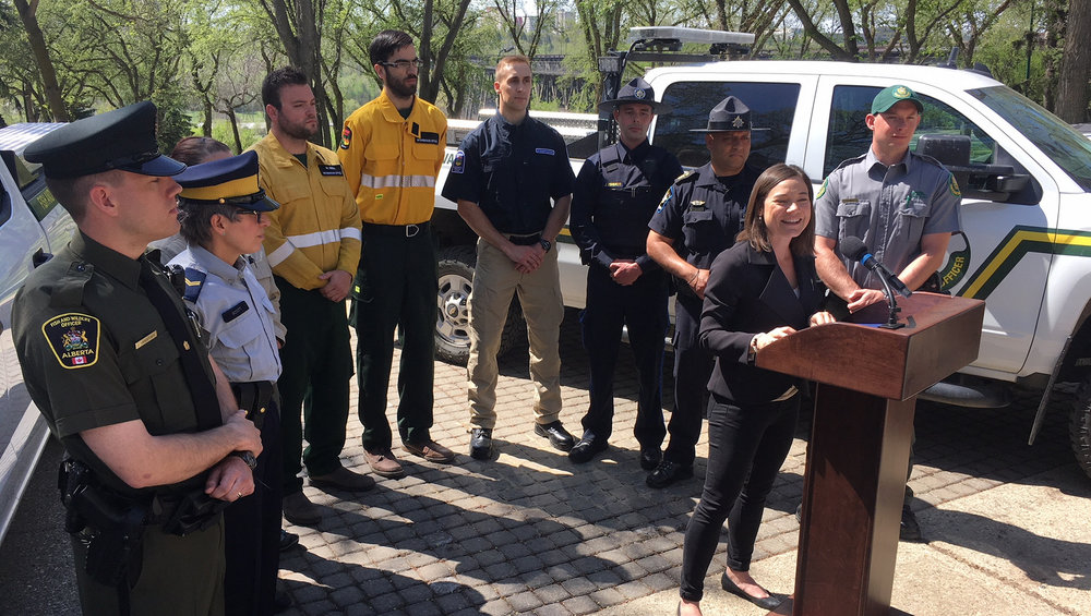 Environment and Parks Minister Shannon Phillips addresses public land enforcement prior to the May long weekend.