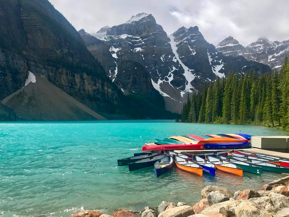 Dawn Gallegos - Moraine Lake in Banff National Park
