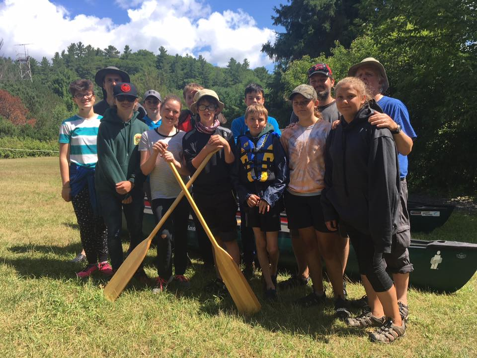Derek Lawday - My scout troop having just returned from there first canoe trip. They enjoyed it so much that we are planning 2 this year.