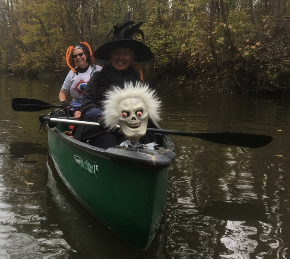 Marci Kosac - Ausable River.. Halloween paddle