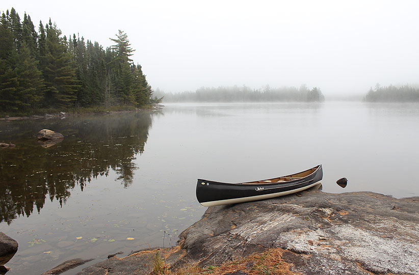 Marianne Balkwill - Jesse Lake in Quetico Provincial Park