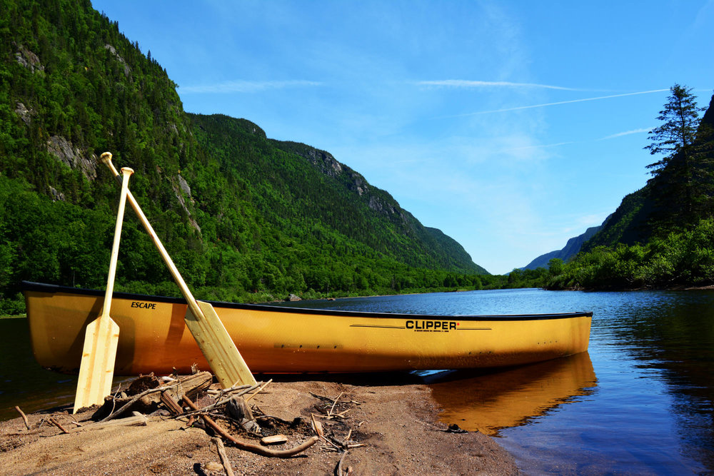 Christine Plume - Jacques Cartier River in Parc national de la Jacques-Cartier