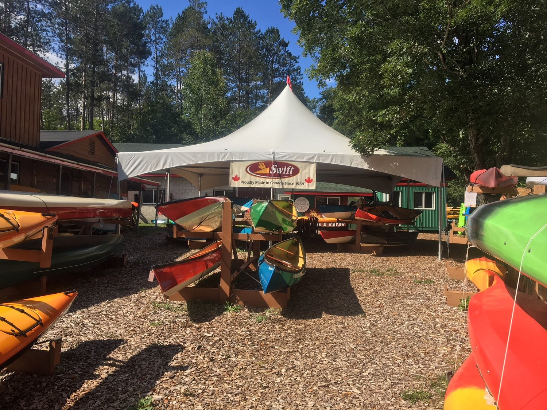 Swift Canoe & Kayak Spring Used Sale 2019 — Traversing