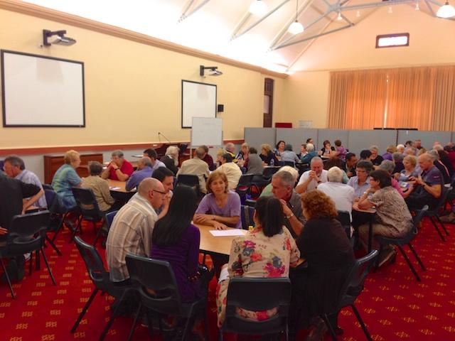 A ChurchSafe workshop.