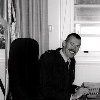 Wing Commander John Oliver, Administrative Staff Officer, RAAF Base Pearce.