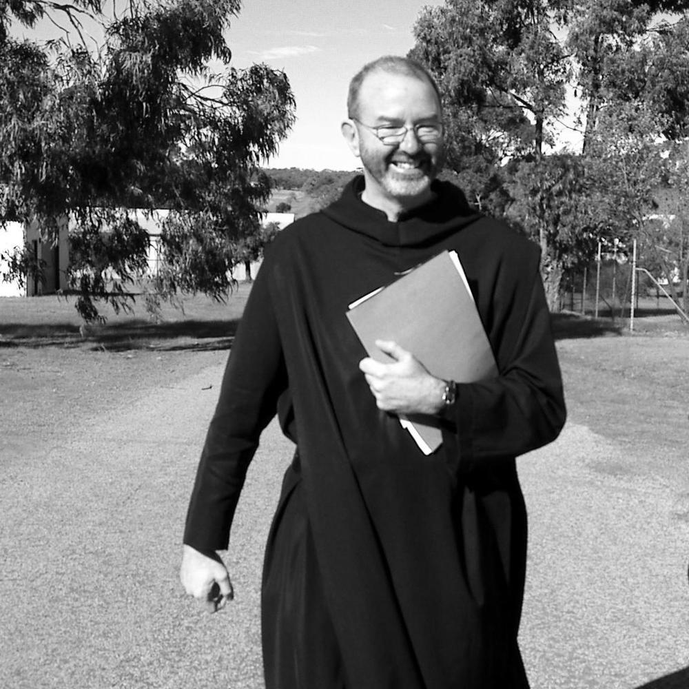 Dom Christopher Power, monk of New Norcia and the best user of written language that I've encountered in my work.