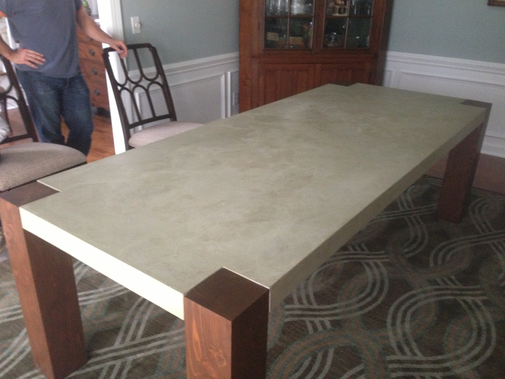Tables Of Concrete