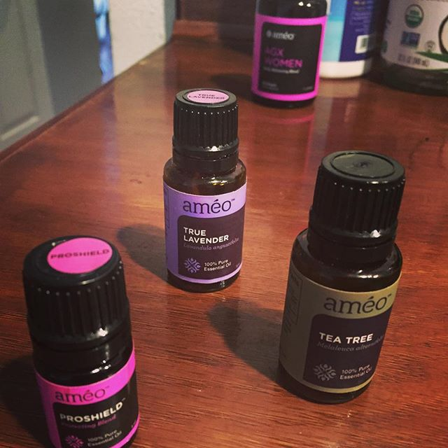 I've always had a strong belief in essential oils this line is really solidifying those beliefs!