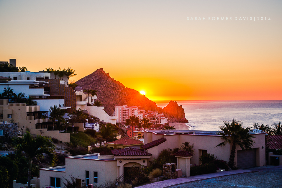 Sunrise over Pedregal, Cabos