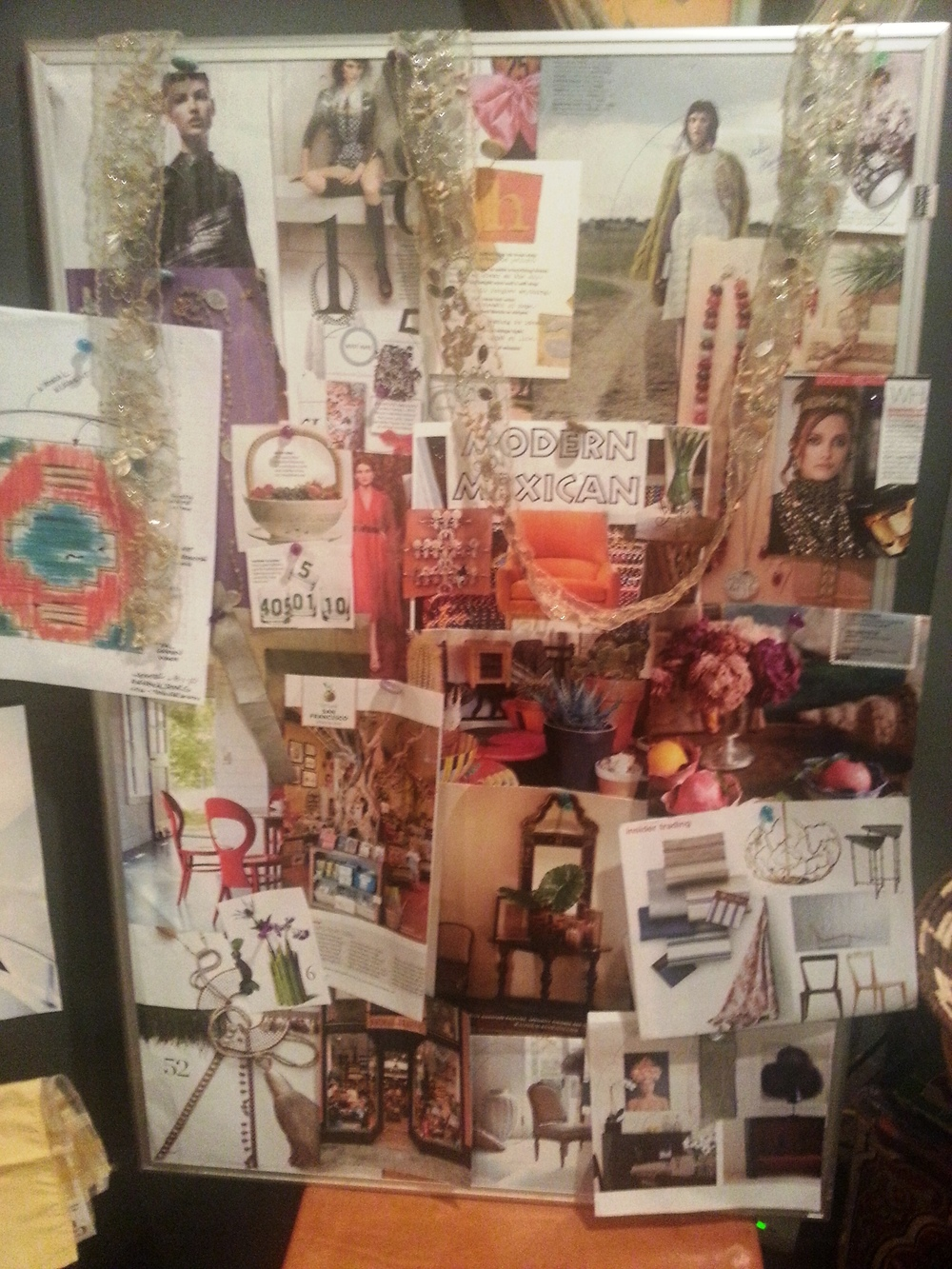 Jennifer Ashton Interiors Pin Board Winter 2012