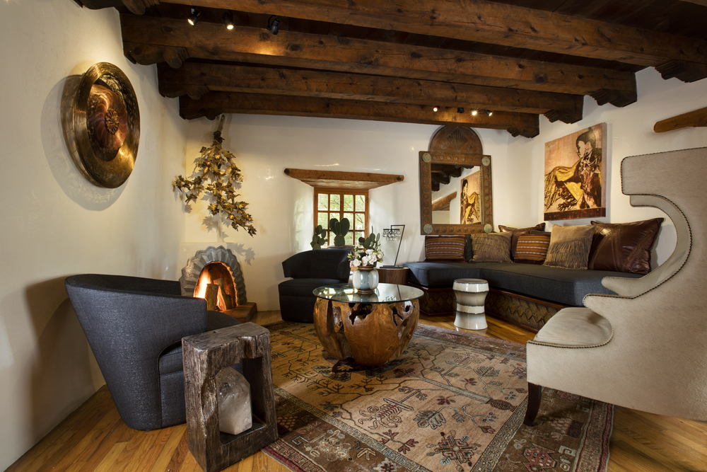 Interiors by Jennifer Ashton & David Naylor for ShowHouse Santa Fe 2015, photo by Kate Russell