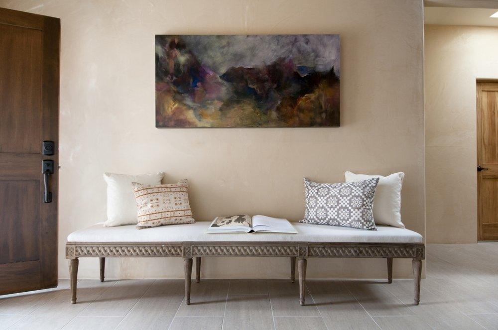 Santa Fe Style -Jennifer Ashton Interiors- Entry