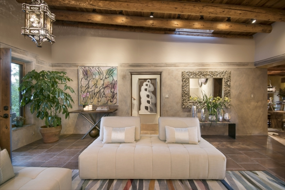 ShowHouse Santa Fe 2016-Laurie Allegretti-Art Wall.jpg