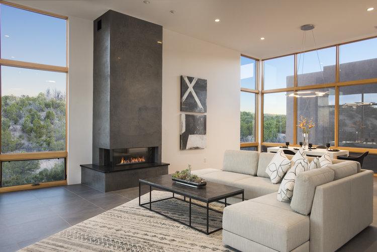 classic modern living jennifer ashton interiors santa fe interior