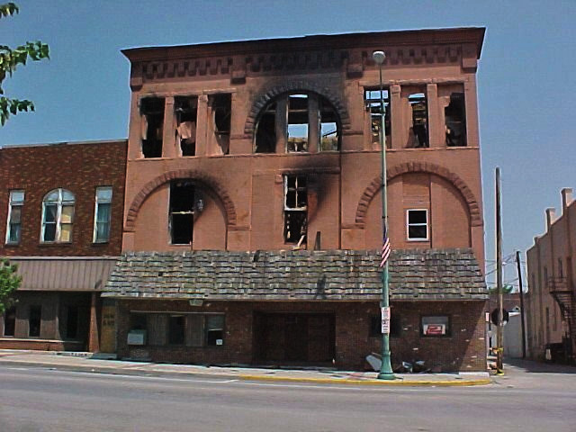 2002, after the fire