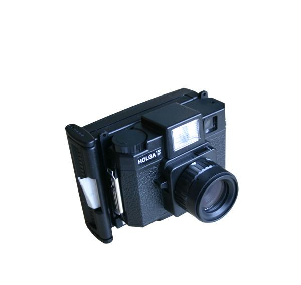 Holga - Polga - Holgaroid -120 SF - Full Frame Polaroid Back CB80