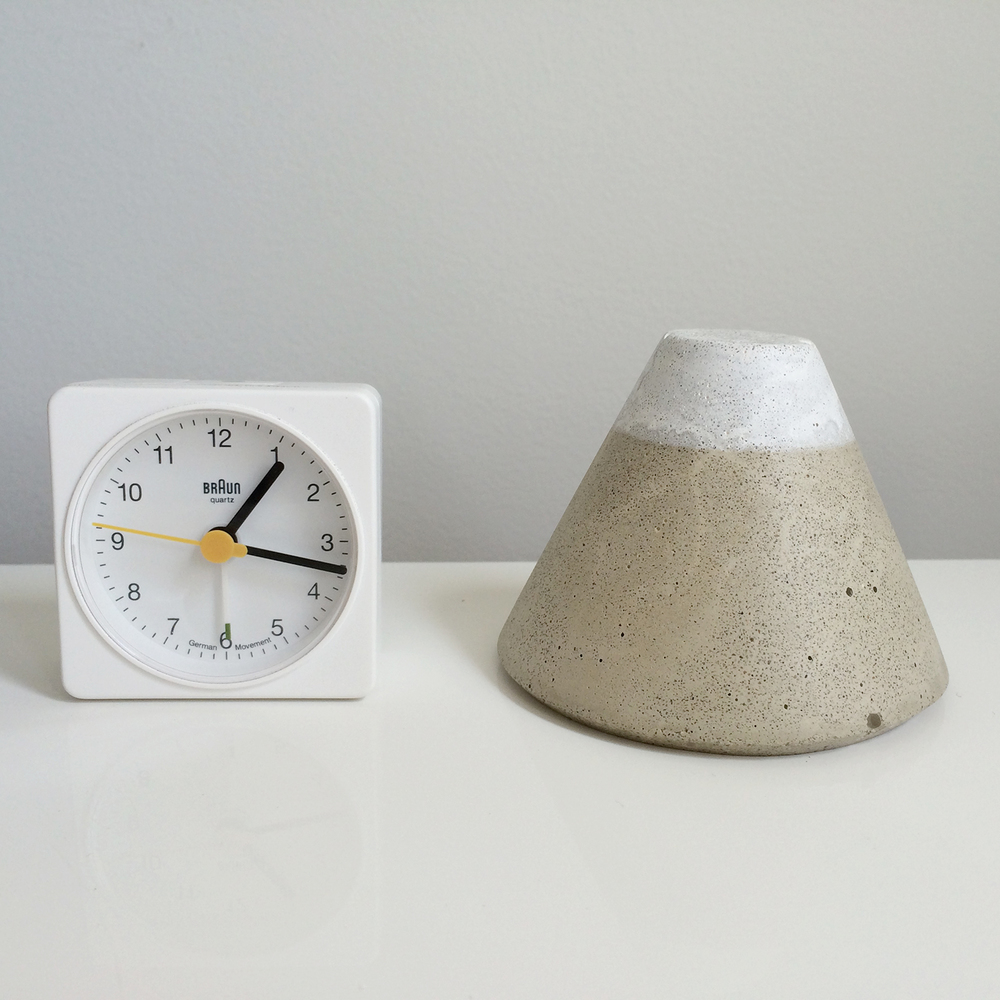 Fuji and Braun Clock