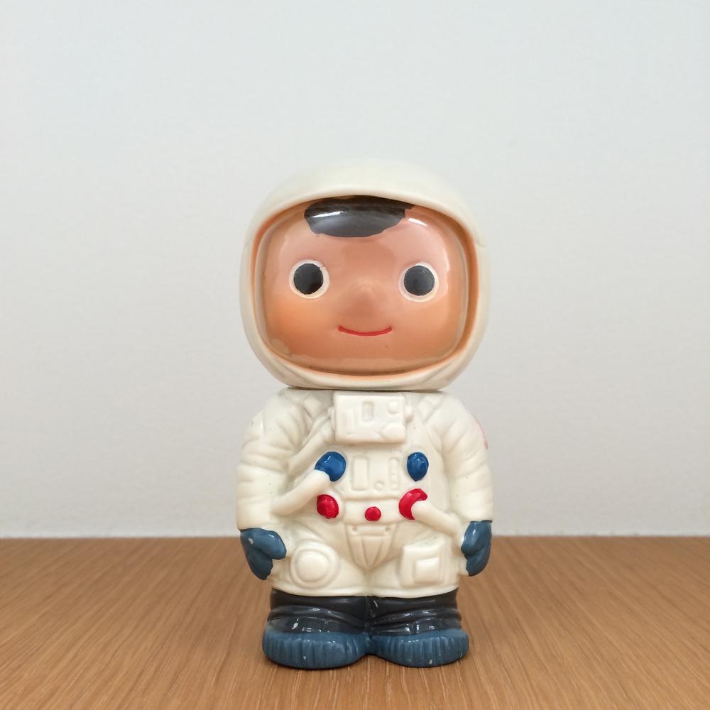 Boku-chan - Apollo Astronaut (Fuji Bank) 富士銀行のぼくちゃん