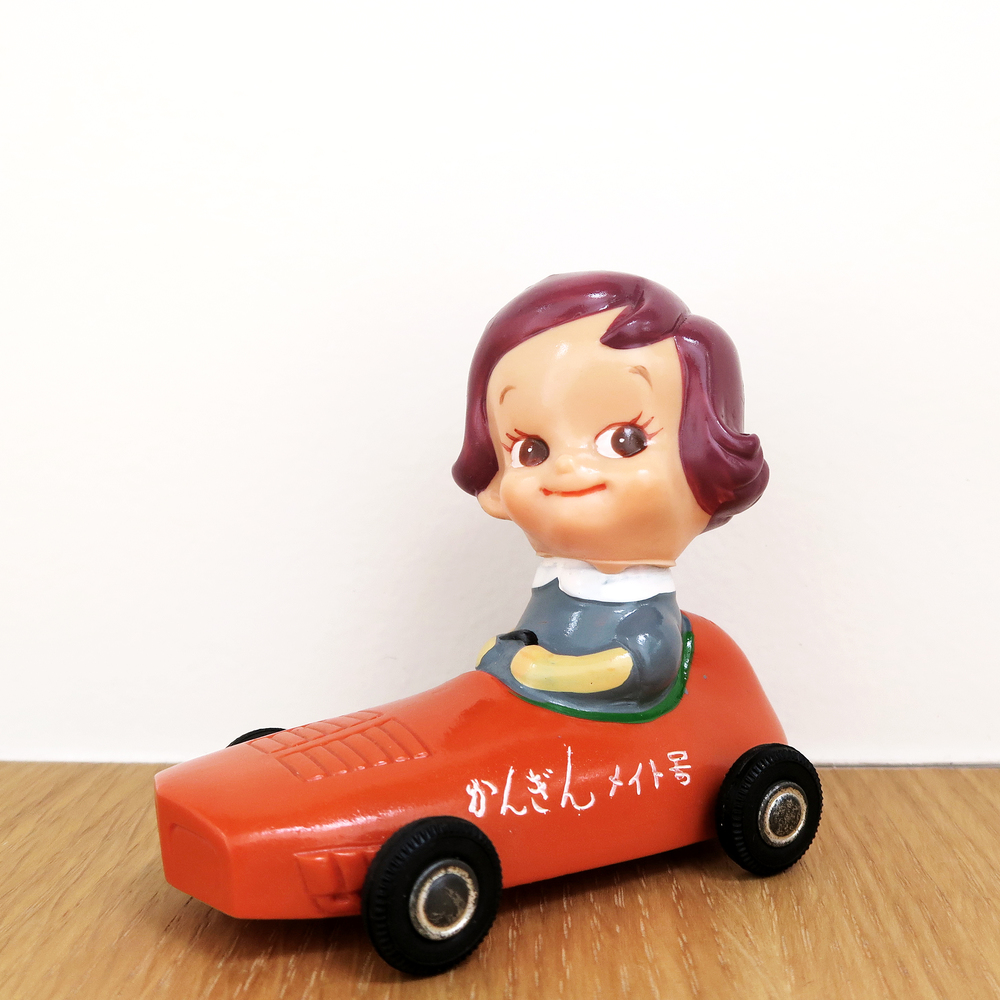 Nobara-chan: Race Car (Nippon Kangyo Bank) のばらちゃん - 日本勧業銀行