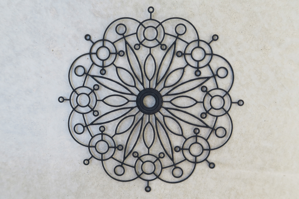 3D printed Flower Pattern Mandala 01