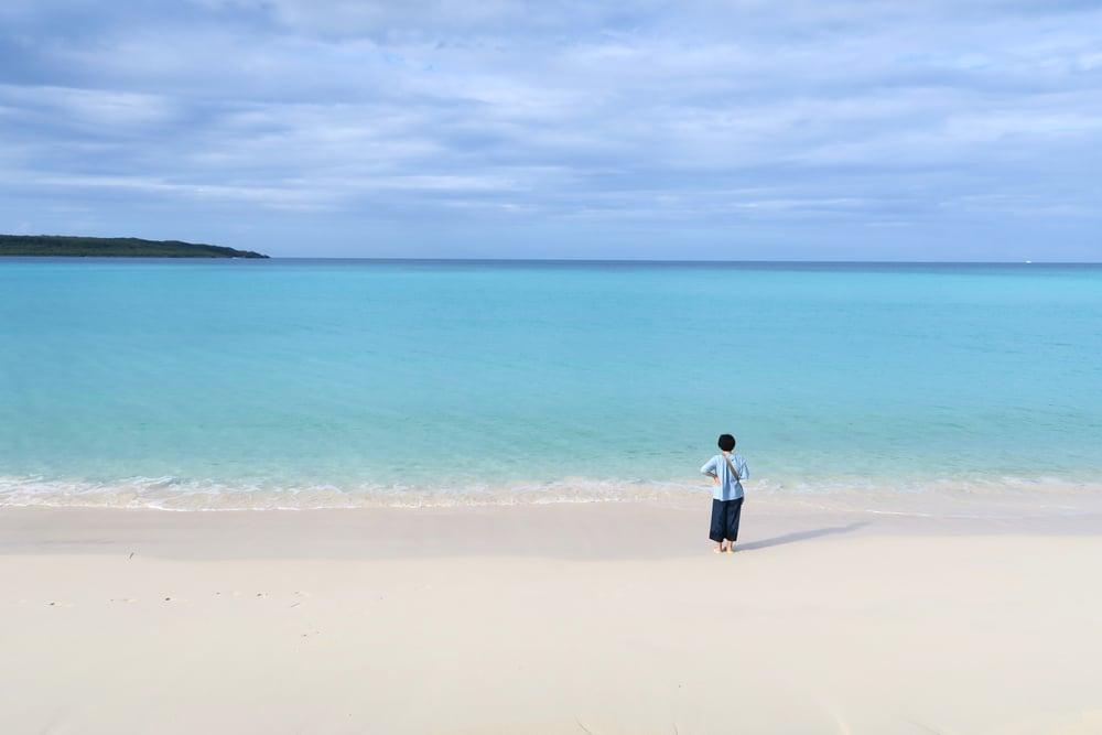 Yonaha Maehama Beach (与那覇前浜ビーチ)