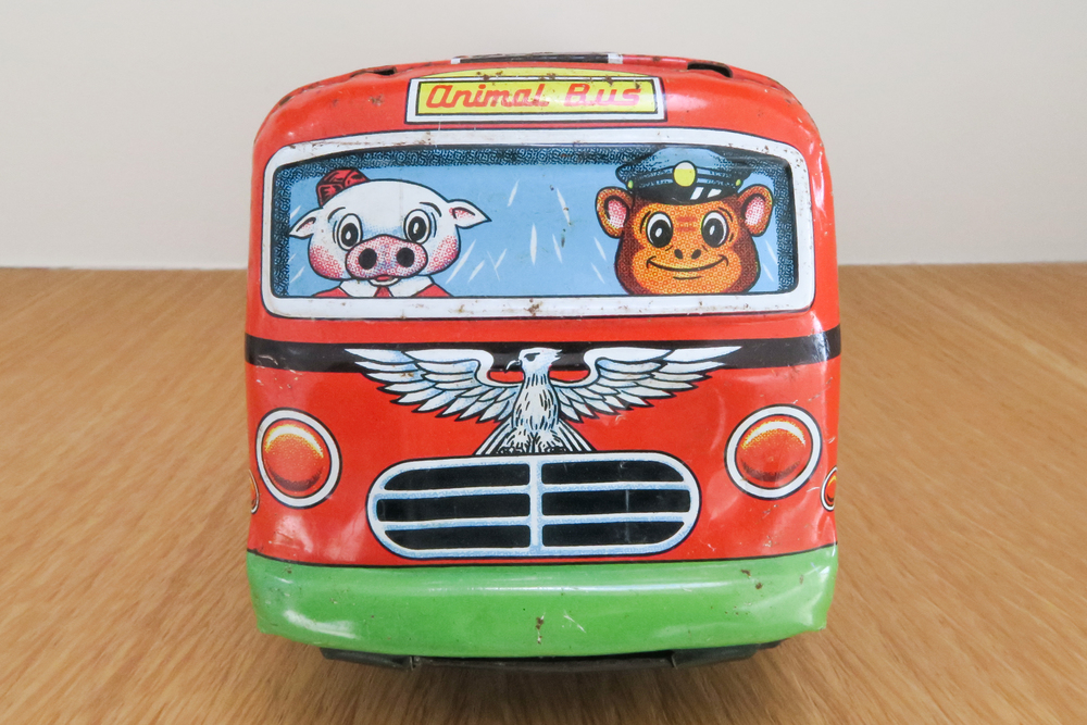 Animal Bus - Friction Toy