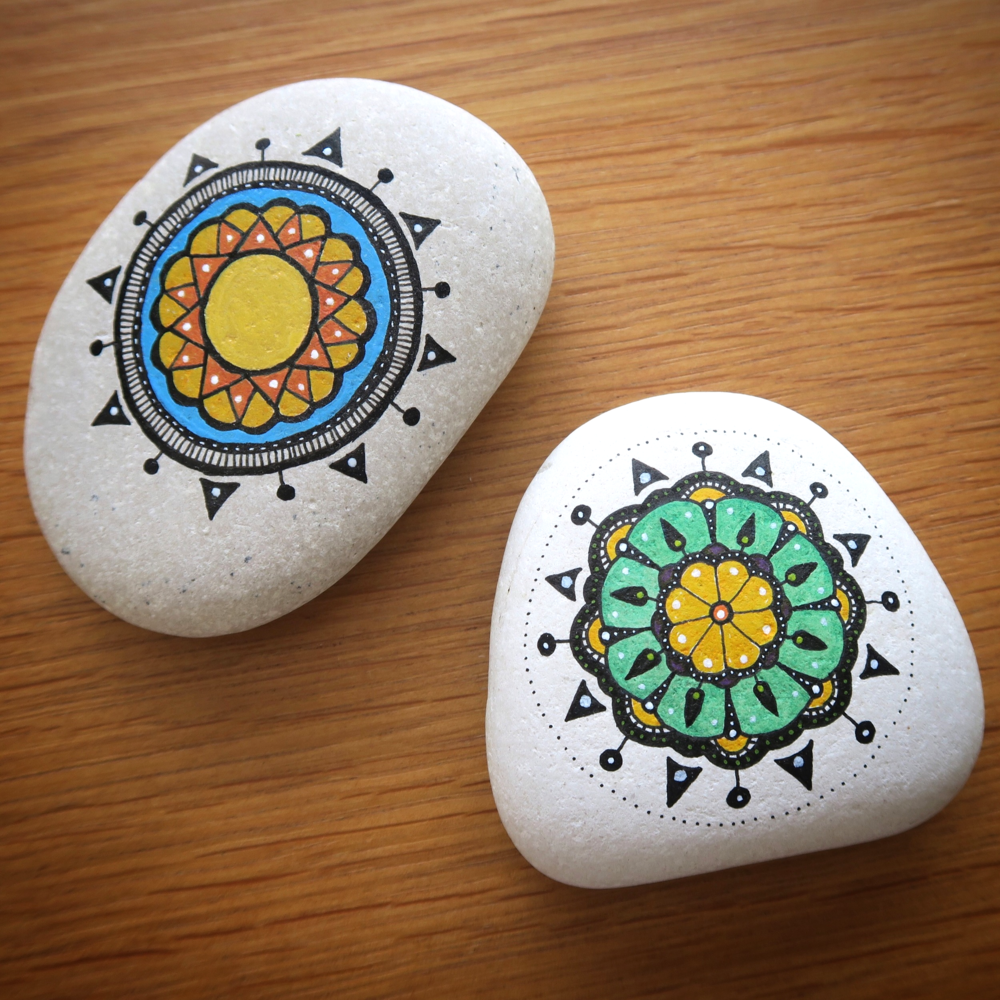 Rock Painting Illustration