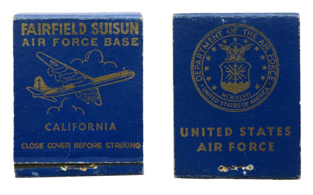 Fairfield Suisun (Travis Air Force Base, Oct 1950)Air Force Base - B-36