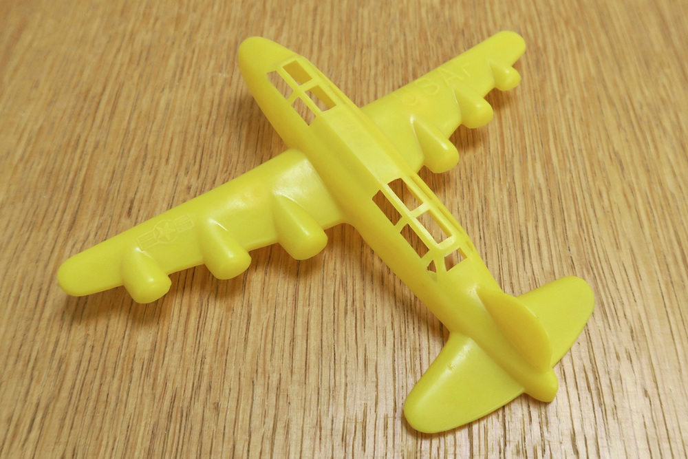 "Payton Plastics: B-36  Soft Plastic Wingspan:5.5"" (139.7mm)  USA - 1950-60's"