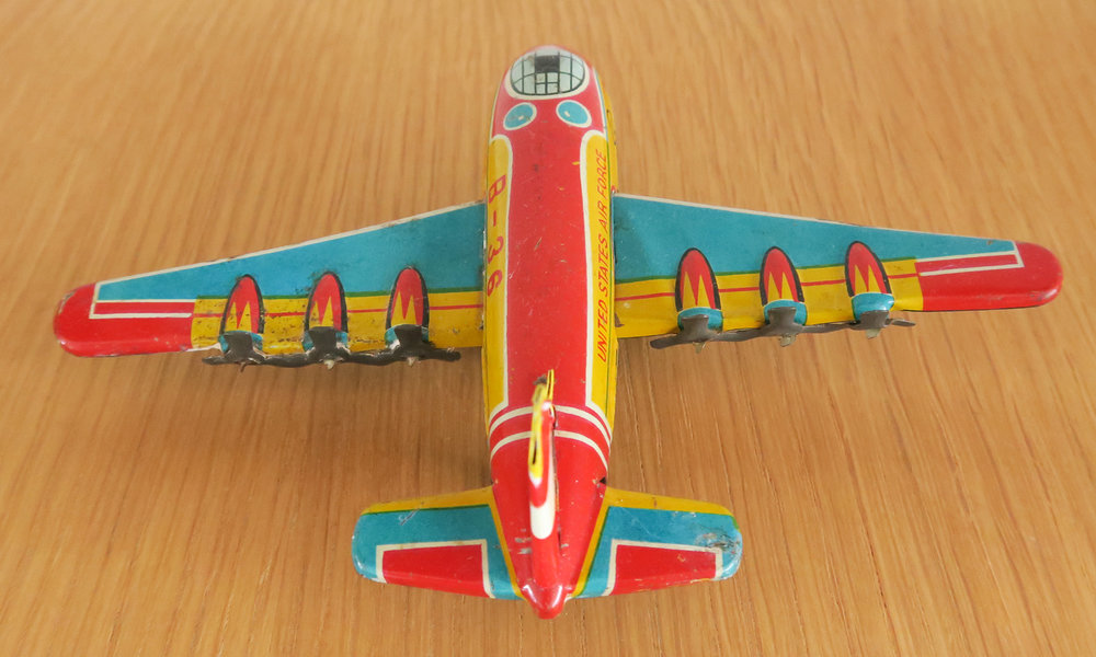 Rear - King B-36 Friction Toy