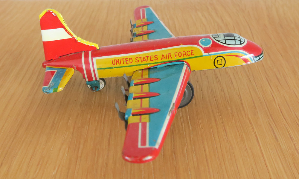Side - King B-36 Friction Toy