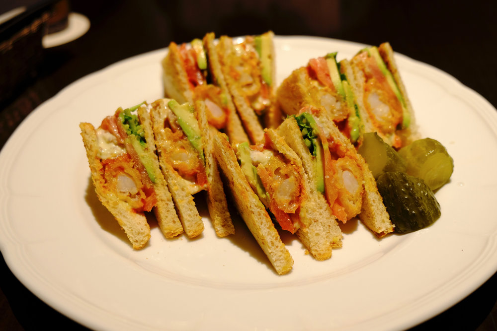 Shrimp and Avocado Sandwich