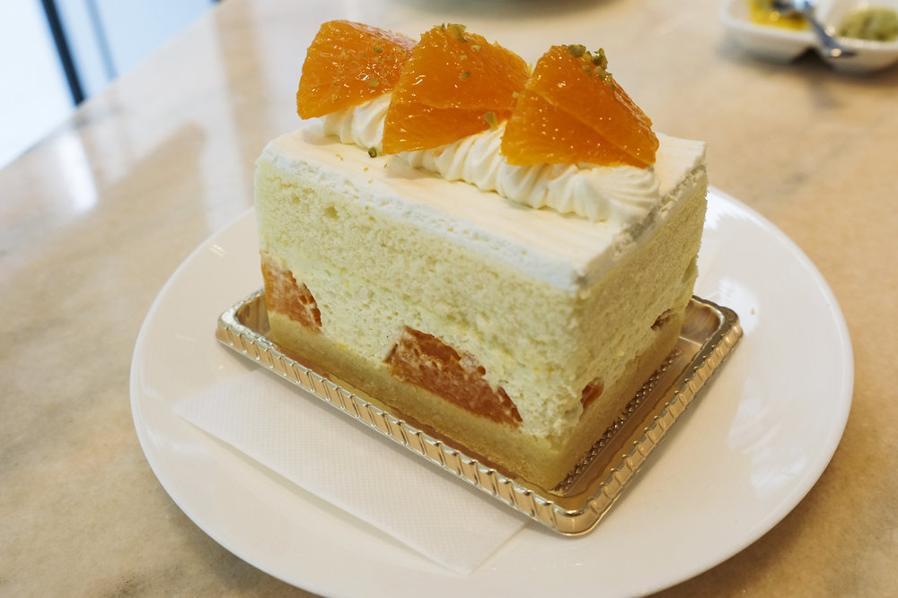 Setoka Orange Short Cake