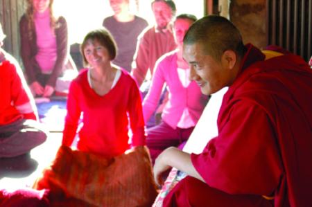 Tulku Lobsang teaching.
