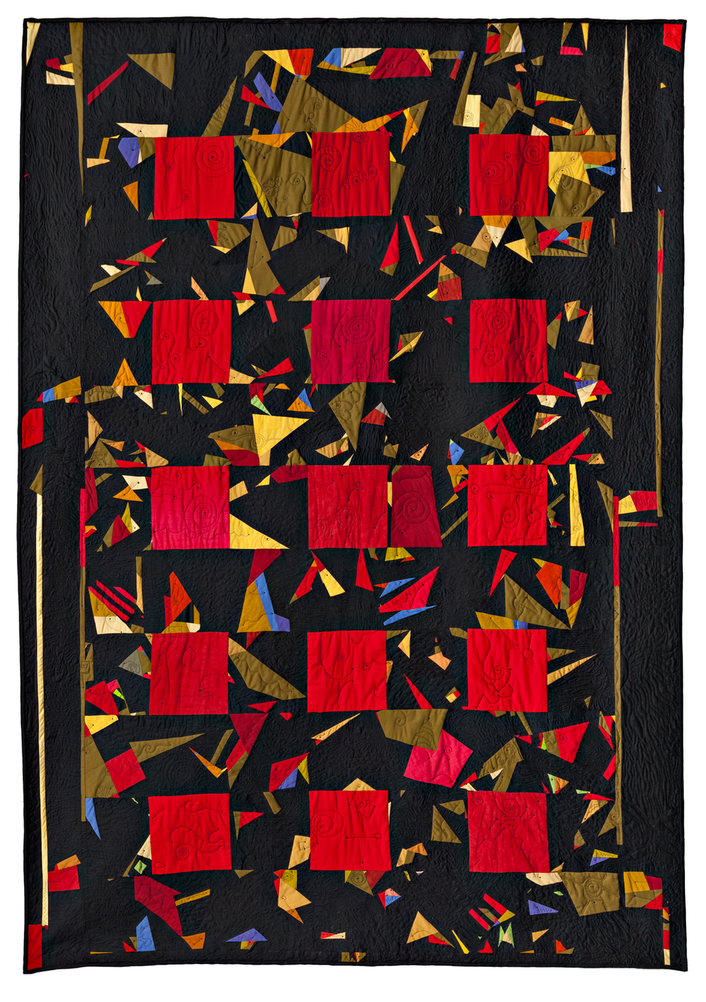 "Amished, Paula Kovarik, 2004, 85.5"" x 60"""