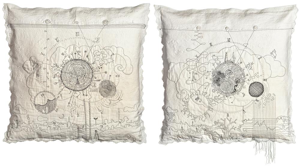 Insomnia: His and Hers, ©2014 Paula Kovarik