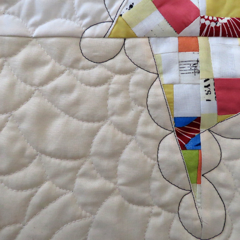Baby quilt, Paula Kovarik