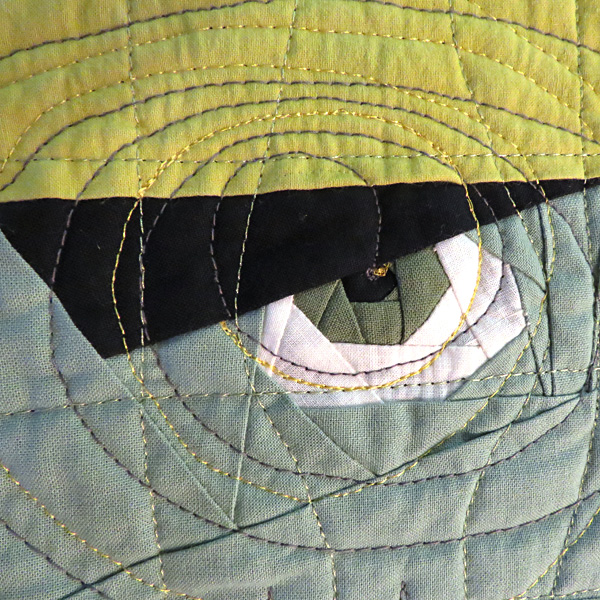 What would this eye be without the spec of gold in the pupil?